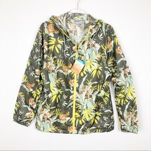 Columbia Side Hill Buttercup Floral Jacket L